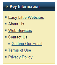 Page Widget viewing Contact Us Page